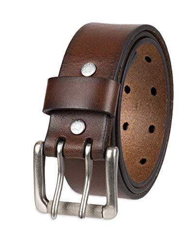 Levi's Men's 1 1/2 in.Bridle Double Prong Buckle Belt,Brown,34