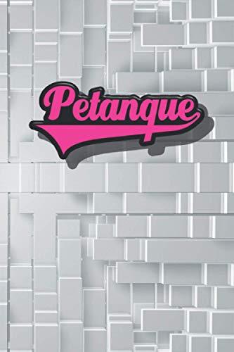 Petanque Notizbuch gepunktet