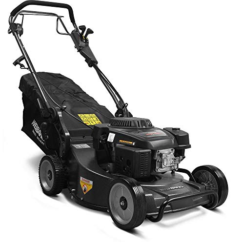 Weibang 21 in. 196cc 4 Stroke Loncin Shaft Driven Engine Gas Aluminum Deck Commercial Self Propelled Walk Behind Mower