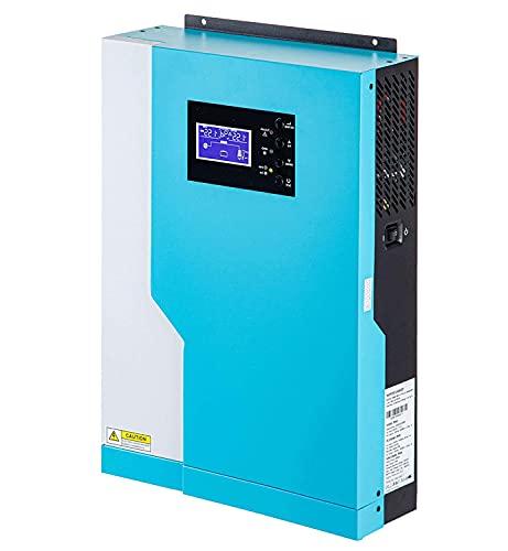 Y&H Inverter Ibrido Invertitore 5.5KVA 48V 220V Inverter solare Puro Dell'onda di seno Built-in 100A MPPT WIFI Solare regolatore di carica Della Batteria del Caricatore