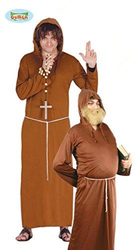 GUIRCA SL.- Costume da Frate Cappuccino Adulto, Colore Marrone, 80032