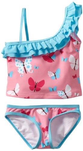 Hatley Mädchen Badeanzug   - Rosa - Pink - 6 Jahre (Herstellergröße: 6 Years)