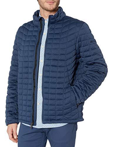 Ben Sherman Gesteppter, leichter und verstaubarer Mantel für Herren. - Blau - Large