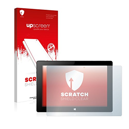 upscreen Schutzfolie kompatibel mit Xoro PAD 10W4 – Kristallklar, Kratzschutz, Anti-Fingerprint
