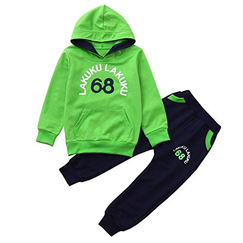 ASHOP Body Bebe Gerber Conjunto niño Ropa Camuflaje (Verde,120 (3-4años))