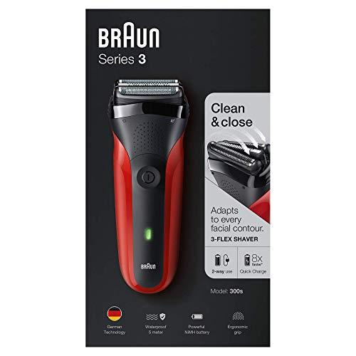 Braun Series 3 300S - rosso