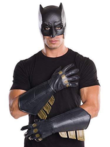 Rubie's offizielle Batman Dämmerung der Gerechtigkeit Stulpen Kostüm Handschuhe