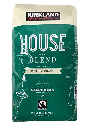 スターバックス コーヒー豆 ハウスブレンド907g 緑 レギュラーコーヒー 6袋