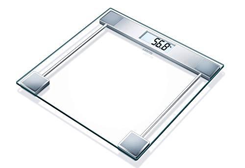 Sanitas Digitale Personenwaage SGS06 transparent, Glas
