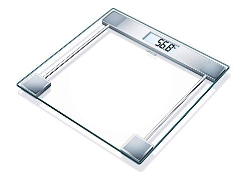 Sanitas Digitale Personenwaage SGS06 transparent, Glas