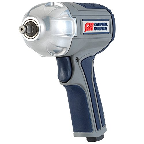 Air Impact Wrench - Twin Hammer 3/8' Impact Driver w/ Composite Body and Comfort Grip (Campbell Hausfeld XT00100)