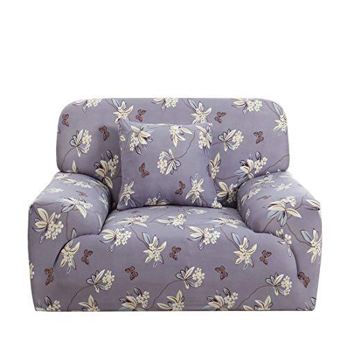 YeVhear - Copridivano elasticizzato per divano con fodera per sedia a forma di taro, colore: viola
