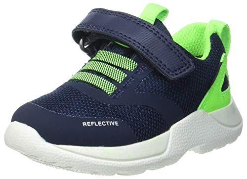 Superfit Jungen Rush Sneaker, Blau Grün 8000, 33 EU