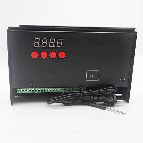 NZYMD LED Programmierbar Steuerung Dimmer kompatibel WS2811 LPD6812 TM1803 UCS2903 SM16711 mit SD Stütz Punkt/Linie/Flächenlichtquelle für Aquarien
