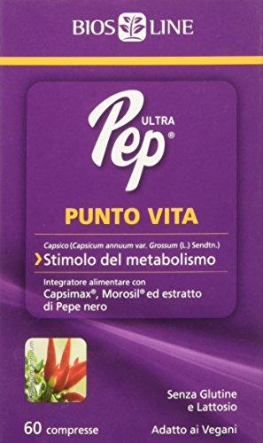 Bios line Ultra Pep Punto Vita Integratore Alimentare 60 Compresse, 30g