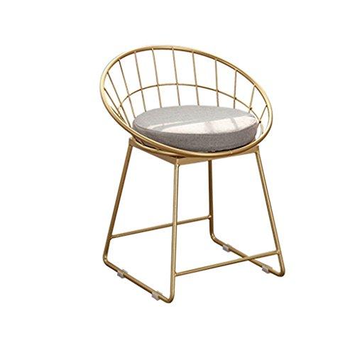 Lying Tabouret de bar, tabouret de bar élégant de style minimaliste moderne en fer forgé trouver (taille : 45cm)