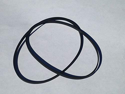 New 2 Replacement Belt Set for Technics RS-TR555 Dual Cassette Deck