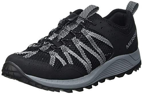 Merrell Wildwood AEROSPORT, Zapatillas para Caminar Mujer, Negro (Black), 39 EU