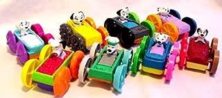 McDonalds - Dalmatians Flip Cars Happy Meal Set - 1998