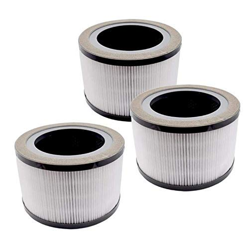 NICERE Vacuum Cleaner Replacements 3 Pcs Air Purifier Replacement Filter Compatible with Vista 200 Air Purifier,Efficiency Activated Carbon Filter