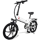 Ablita Windgoo - Bicicleta eléctrica plegable, hasta 25 km/h, velocidad ajustable, 12 pulgadas, E-Bike, 350 W/36 V, batería de litio recargable, adulto, unisex, bicicleta plegable eléctrica ciclomotor
