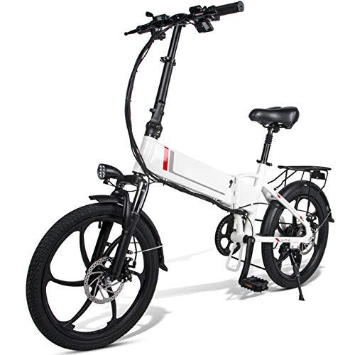 Ablita Windgoo - Bicicleta eléctrica plegable, hasta 25 km/h, velocidad ajustable, 12...