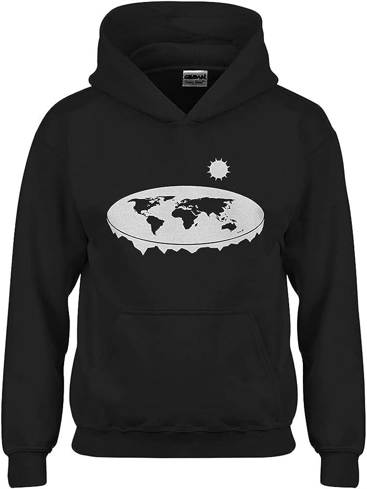 Flat Earth Youth Unisex Hoodie