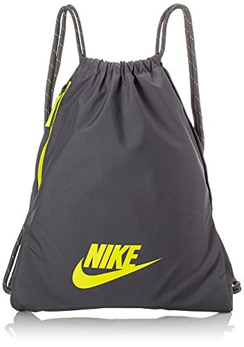 Nike BA5901-068 NK HERITAGE GMSK - 2.0 Sacca sportiva Unisex - Adulto iron grey/iron grey/(cyber) MISC