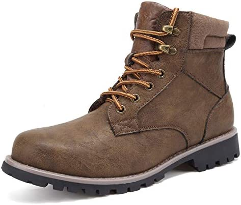 EYUSHIJIA Men s Hiking Mid Waterproof Ankle Boot Brown 11 product image