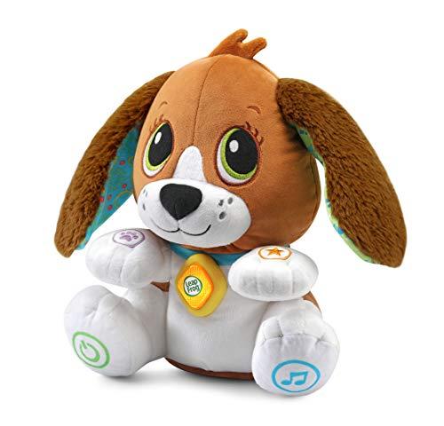 LeapFrog - Peluche per Bambini e Bambini, con Suoni e Frasi, per Bambini e Bambini, per Bambini di età Compresa tra 1, 2, 3 Anni in su.