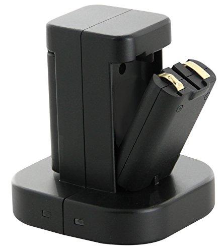 Nyko Charge Dock Mini Doppel-Ladestation inkl. 2 Akku-Packs für WiiMote, schwarz