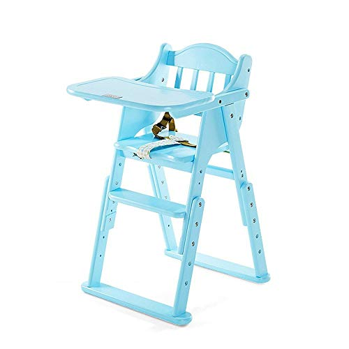 Find Bargain TYUIO High Chair for Babies and Toddlers - with Harness, Removable Tray, and Adjustable...