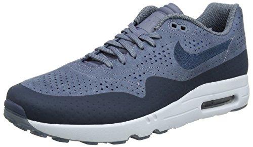 Nike Herren Air Max 1 Ultra 2.0 Moire Sneaker, Grau (Bleuarsenal/bleugeai/teintebleue/marinearsenal), 42 EU