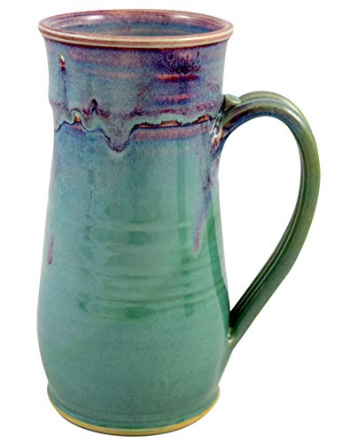 American Made Orchid Green Pottery Collection: 22-oz Tall Mug