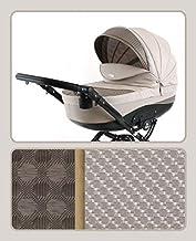 Cochecito de bebe 3 en 1 2 en 1 Trio Isofix silla de paseo Tori by SaintBaby Sand T-07 4in1 con Isofix + Silla