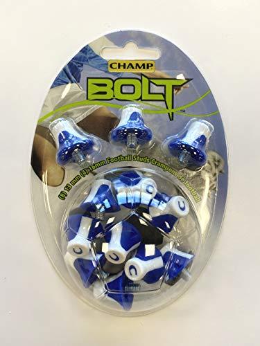 Champ BOLT02B Bolt - Borchie da Calcio in 2 Colori, Taglia Unica