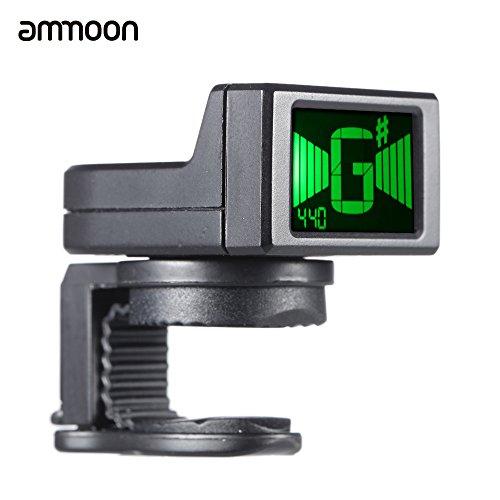 ammoon AT-08 Mini LCD Digital Clip-on Afinador para la Guitarra Eléct