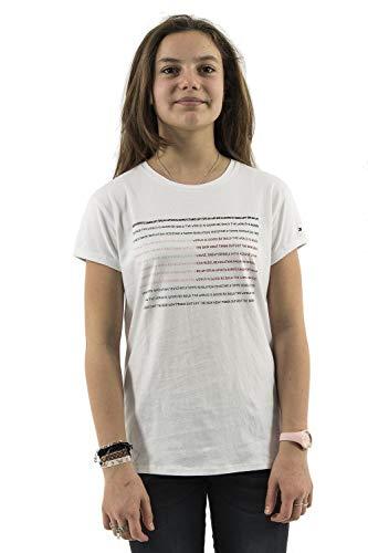 Tommy Jeans Tee Shirts korte mouwen kg0kg04393 wit