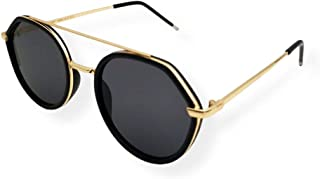 Farben Asymmetrical Frame Sunglasses 7067-C1