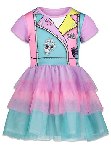 L.O.L. Surprise! Little Girls Costume Party Tulle Skirt 6-6X
