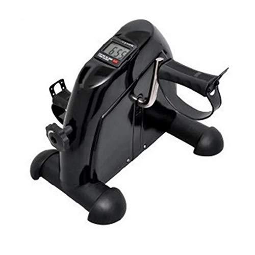Gemakkelijk mee te nemen en te monteren mini-fietstrainer, verstelbaar antislip fitnesspedaal, digitaal LCD-scherm, licht en stabiel ontwerp, instelbare weerstand