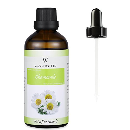 Wasserstein 4oz Chamomile Therapeutic Grade Essential Oil, 100% Pure & Natural