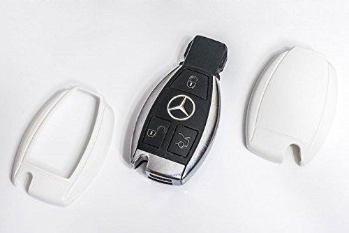Key Cover Schlüssel Hülle Abdeckung Weiß