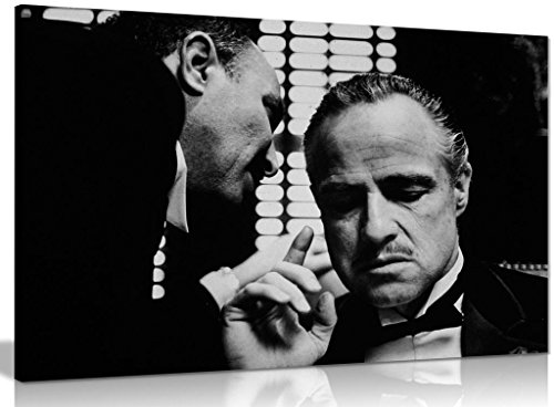 The Godfather Marlon Brando Don Corleone Gangster Leinwanddruck, 76,2 x 50,8 cm