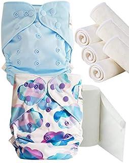 81ede14fd1 Maman et bb Nature - Pack découverte Couches lavables TE2 + insert et  voiles de protection