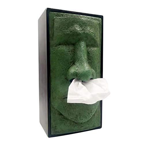 TOPBATHY Porte-boîtes à mouchoirs Statues Porte-Serviettes de Table Distributeur de mouchoirs Vintage pour Voiture de Bureau à Domicile de Pâques