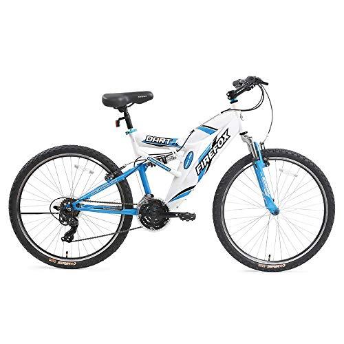 Firefox Bikes Dart 26T 21 Speed Mountain Best Gear Cycles Under 10000 (White/Blue)