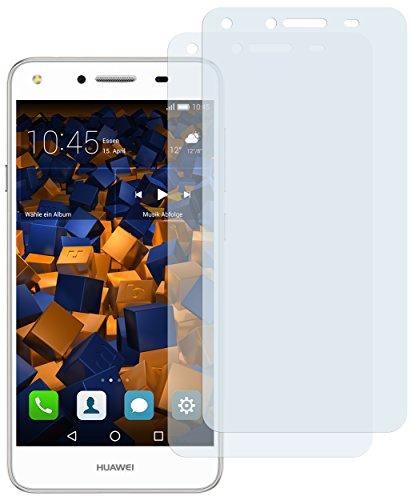 Schutzfolie kompatibel mit Huawei Y5 II Folie klar, Displayschutzfolie (2X)