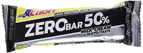 ProAction Zero Bar 50% (fior di latte, confezione da 20 barrette da 60 g)