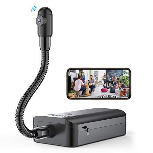 Semi-Rigid Snake Camera,Hidden Spy Camera Wireless WiFi Mini Hidden...